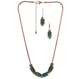 Wholesale L23C Antique Charm Necklace Set OG