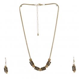 Wholesale L23C Antique Charm Necklace Set G