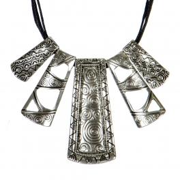 Wholesale N32A Tribal pendant necklace set RH/BK