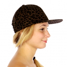 Wholesale P18D Animal Print Snapback Hat BR