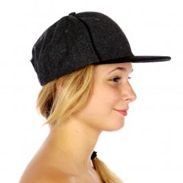 Wholesale P18D Wool Blend Snapback Hat GY