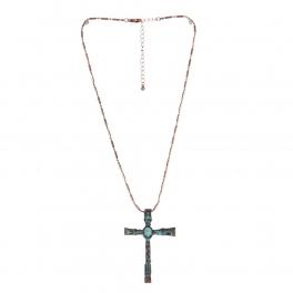 Wholesale L21C Antique Cross Necklace OG