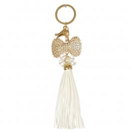 Wholesale M10B Ribbon Tassel Keychain GD