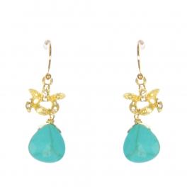 Wholesale WA00 Rhinestone and teardrop stone earrings GTQ