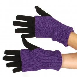 Wholesale T20 Two Tone Gloves BK/PU