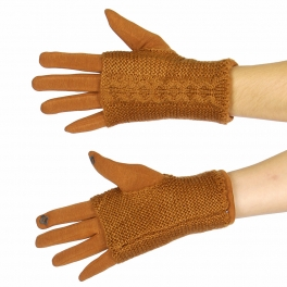 Wholesale S00B Smartphone friendly knit layer gloves CM