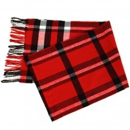 {[en]:Wholesale O58A Plaid cashmere feel scarf