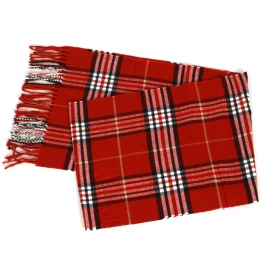 {[en]:Wholesale O59B Plaid cashmere feel scarf