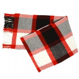 {[en]:Wholesale O58E Plaid cashmere feel scarf
