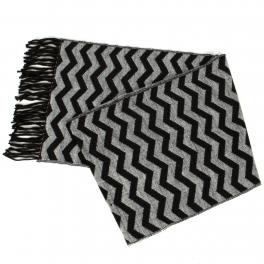 {[en]:Wholesale O58E Wave pattern cashmere feel scarf
