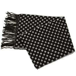 {[en]:Wholesale O58E Polk dots cashmere feel scarf