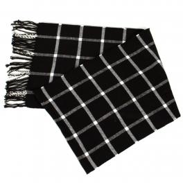 {[en]:Wholesale O58E Criss cross pattern cashmere feel scarf