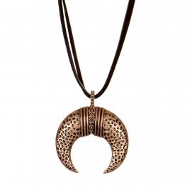 Wholesale M28B Crescent moon pendant necklace CB