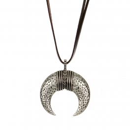 Wholesale M28B Crescent moon pendant necklace SB