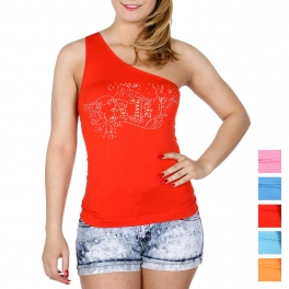 Wholesale N47B BABY one shoulder top
