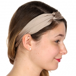 Wholesale N46D Solid suede headband BLK