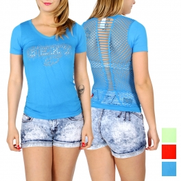 Wholesale N43D SEXY sexy back t-shirt