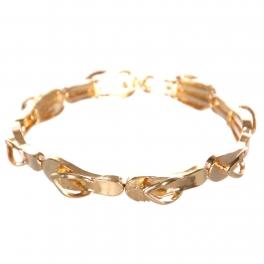 Wholesale WA00 Twinkle flip-flop bracelet GD