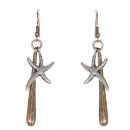 Wholesale WA00 Dancing starfish earrings RGB.SB