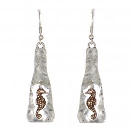 Wholesale WA00 Seahorse dangling earrings SB.RGB