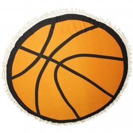 Wholesale I41A 100% Viscose round basketball beach cover up