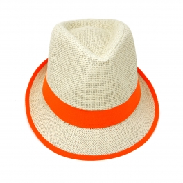 wholesale V30 Basic color band fedoras hat Violet