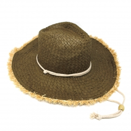 e122448398b03 Save 5%. V53BX10 Frayed edge paper cowboy hat