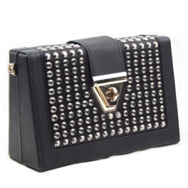 Wholesale N00B Beads metal small shoulder handbag BK