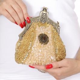 Wholesale N00B Beads rhinestone clasp evening clutch bags AG