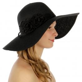 Wholesale W29 Flower corsage paper hat BG