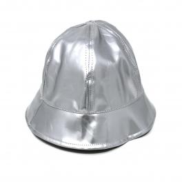 Wholesale T24C Shiny Faux Leather Bucket Hat ROD