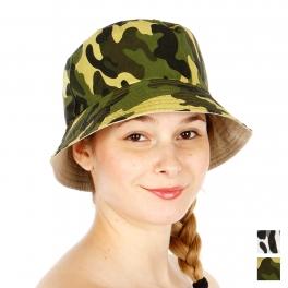 Wholesale T26B Military Pattern Bucket Hat GRN