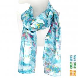 Wholesale O43B Confetti satin scarf