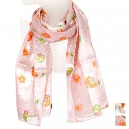 Wholesale O42B Ladybug satin scarf