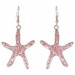 Wholesale L01B Starfish dangling earrings PG