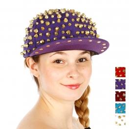 Wholesale T24D Trendy Studded Snapback Hat GDPUR