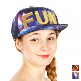 Wholesale R06B FUN Snapback Hat GDBLU