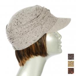 Wholesale BX00 Splatter metallic print cotton cadet Grey