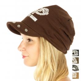 wholesale G01 Dragon Cotton Hat Black fashionunic
