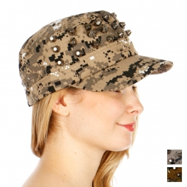 wholesale G05 Digital camo studs hat Taupe fashionunic
