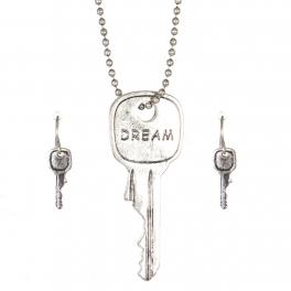 Wholesale WA00 Key pendant necklace set Dream SB