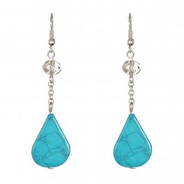 Wholesale WA00 Handmade turquoise bead earrings