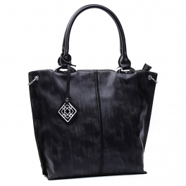 Wholesale S78A Center-seam tote Black