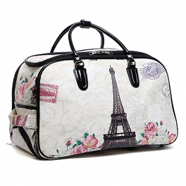 Wholesale P26 Rolling duffle bag Eiffel Tower