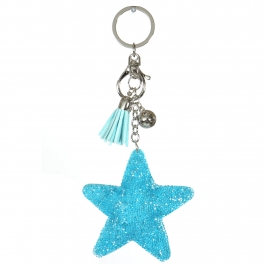 Wholesale WA00 Keychain Tassel and Star RTQ