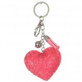 Wholesale WA00 Keychain Tassel and Heart RPK