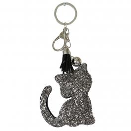Wholesale WA00 Keychain Tassel and Cat RGY