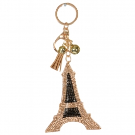 Wholesale WA00 Keychain Eiffel Tower GNT