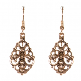 Wholesale M21C Metal filigree earrings APG