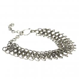 Wholesale M21E Handmade metal layered bracelet